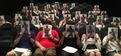 学生映画宣伝局:『パワーレンジャー』学生限定試写会観る前推しメン
