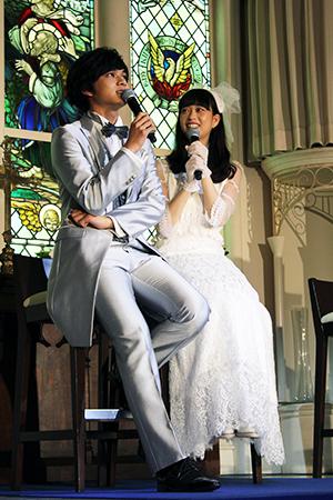 映画『恋と嘘』結婚式イベント、森川葵、北村匠海