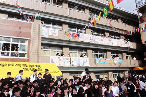 映画『恋と嘘』目黒学院高等学校学園祭