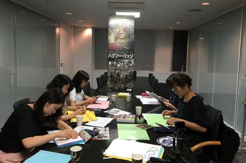 学生映画宣伝局:『ハクソー・リッジ』DVD打合せ2回目中