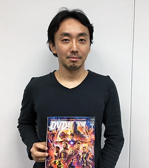 映画業界の方にインタビュー:DVD&動画配信でーた編集部・西川亮さん
