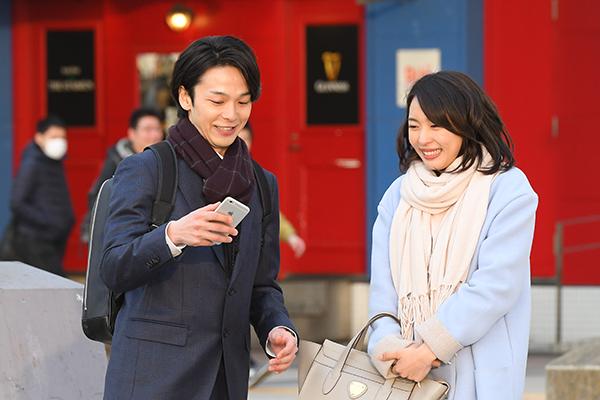 映画『美人が婚活してみたら』黒川芽以/中村倫也