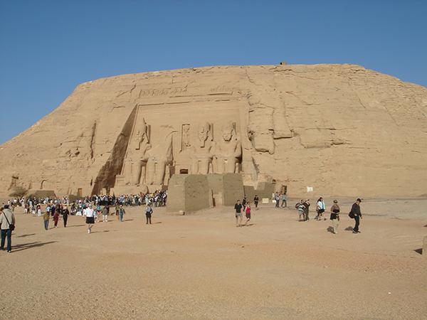 マイソン一人旅:エジプト/アブシンベル大神殿