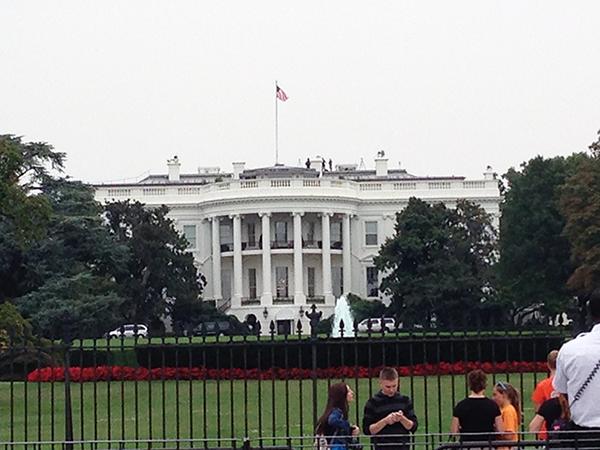 マイソン一人旅:アメリカ/ホワイトハウス