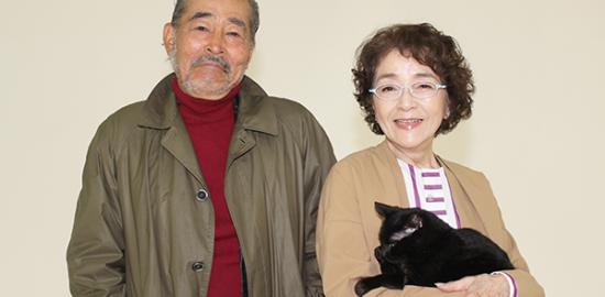 映画初恋〜お父さん、チビがいなくなりました』倍賞千恵子さん、藤竜也さんインタビュー