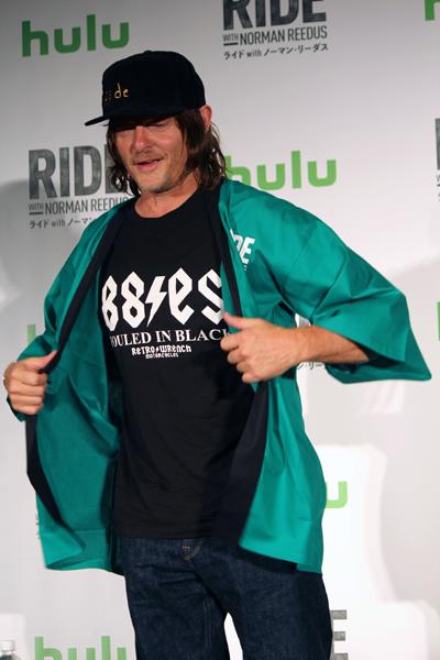 Hulu『ライドwithノーマン・リーダス』ノーマン・リーダス