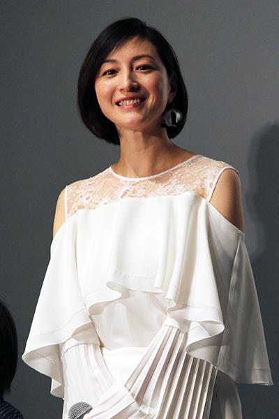 映画『太陽の家』記者会見:広末涼子