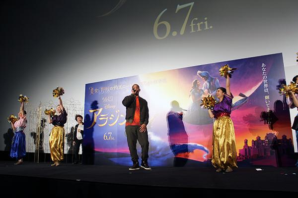 映画『アラジン』来日最速試写会イベント:ウィル・スミス