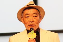 映画『モヒカン故郷に帰る』大ヒット祈願イベント、柄本明