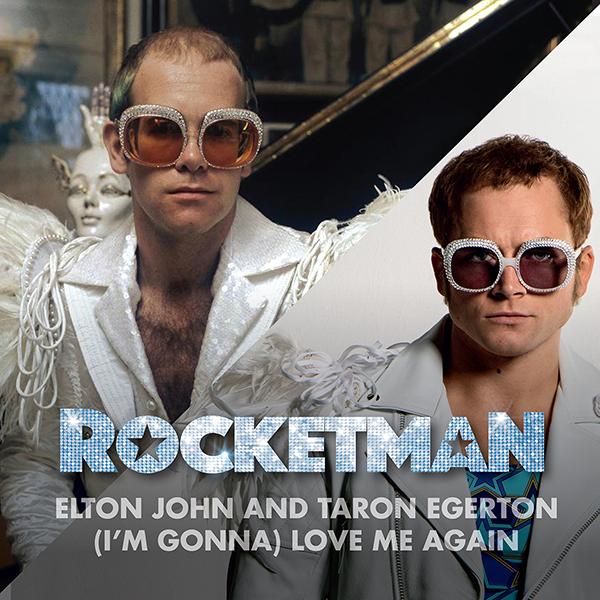映画『ロケットマン』楽曲「ラヴ・ミー・アゲイン」タロン・エガ-トン、エルトン・ジョン
