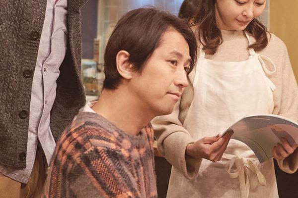 映画『ママレード・ボーイ 』谷原章介