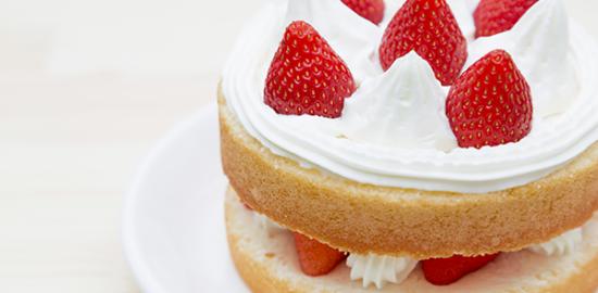 イメージ:イチゴケーキ