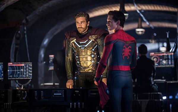 映画『スパイダーマン:ファー・フロム・ホーム』トム・ホランド/ジェイク・ギレンホール