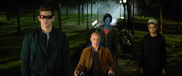 映画『X-MEN:ダーク・フェニックス』ジェームズ・マカヴォイ/タイ・シェリダン