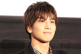 映画『去年の冬、きみと別れ』完成披露試写会舞台挨拶、岩田剛典
