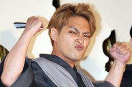 映画『銀魂2 掟は破るためにこそある』完成披露試写会舞台挨拶、柳楽優弥