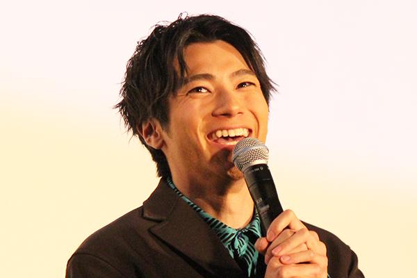 映画『虹色デイズ』舞台挨拶、山田裕貴