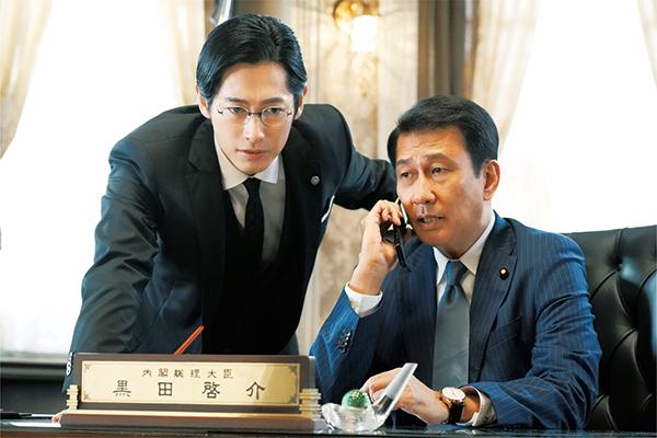 映画『記憶にございません!』中井貴一/ディーン・フジオカ