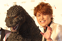映画『GODZILLA 星を喰う者』第31回東京国際映画祭レッドカーペット、宮野守