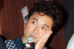 映画『銀魂2 掟は破るためにこそある』完成披露試写会舞台挨拶、ムロツヨシ