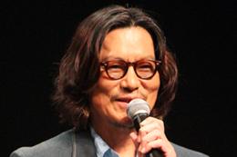 映画『パンク侍、斬られて候』完成披露舞台挨拶豊川悦司