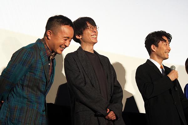 映画『引っ越し大名!』初日舞台挨拶:星野源、高橋一生、濱田岳