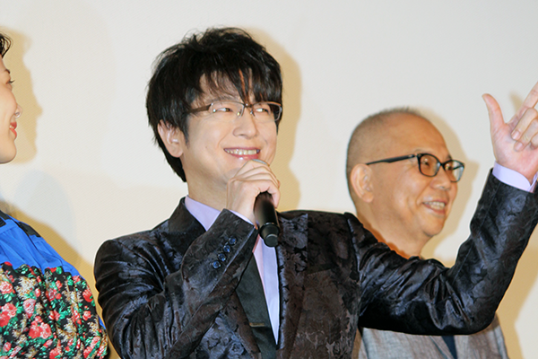 映画『引っ越し大名!』初日舞台挨拶:及川光博