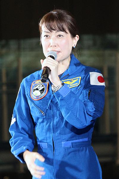 映画『アド・アストラ』来日記者会見:山崎直子(宇宙飛行士)