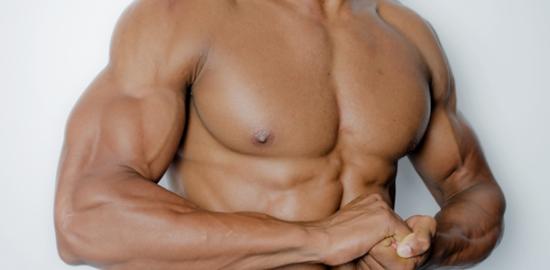 マッチョ写真イメージ:胸板・腹筋もろもろ