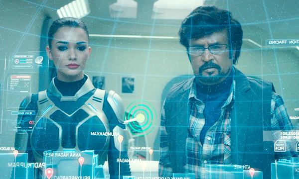 映画『ロボット2.0』ラジニカーント/エイミー・ジャクソン