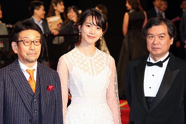 東京国際映画祭2019オープニングイベント:映画『この世界の(さらにいくつもの)片隅に』のん/片淵須直監督ほか