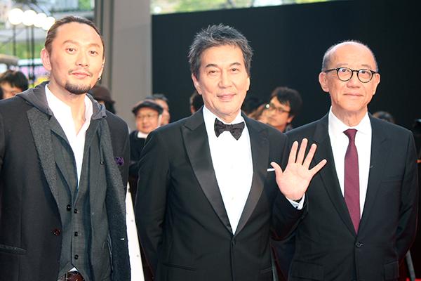 東京国際映画祭2019オープニングイベント:映画『オーバー・エベレスト 陰謀の氷壁 Wings Over Everest』役所広司/テレンス・チャン(プロデューサー)/ユー・フェイ監督