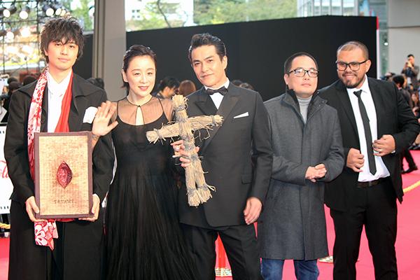 東京国際映画祭2019オープニングイベント:映画『TATAMI』齊藤工監督/北村一輝ほか
