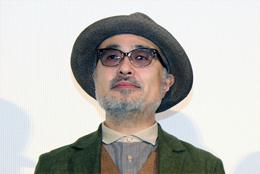 映画『ジヌよさらば~かむろば村へ~』完成披露試写会舞台挨拶、松尾スズキ