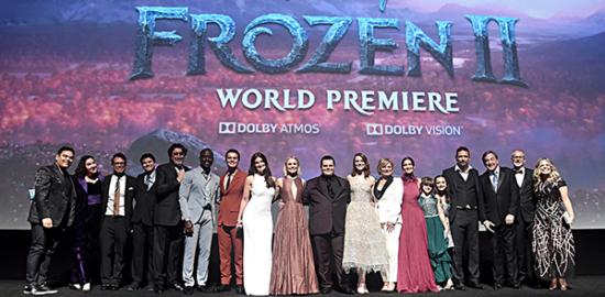 映画『アナと雪の女王2』ワールドブレミア