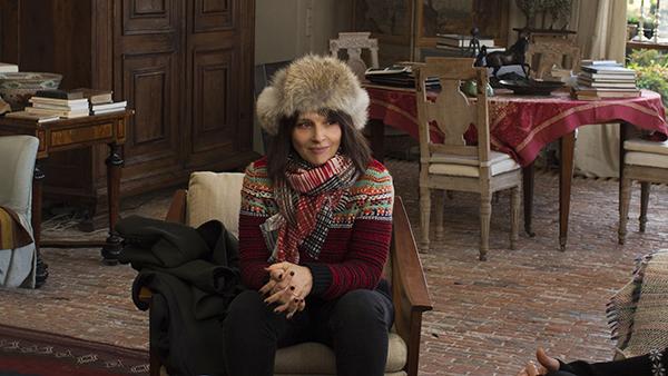 映画『冬時間のパリ』ジュリエット・ビノシュ