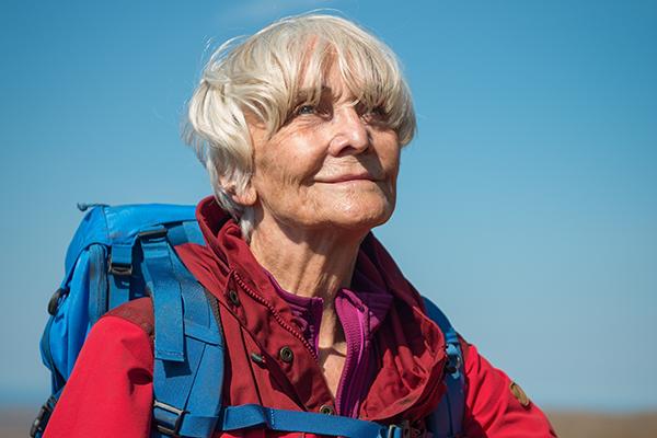 映画『イーディ、83歳 はじめての山登り』シーラ・ハンコック