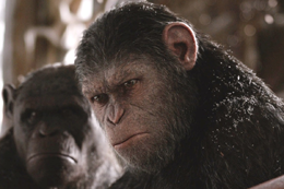 映画『猿の惑星:聖戦記(グレート・ウォー)』アンディ・サーキス