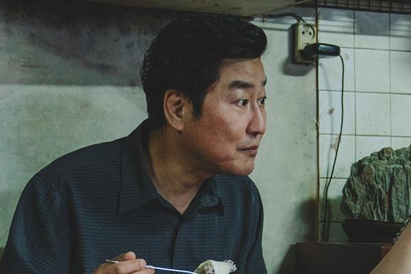 映画『パラサイト 半地下の家族』ソン・ガンホ