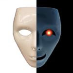 二面性の顔イメージ写真AC