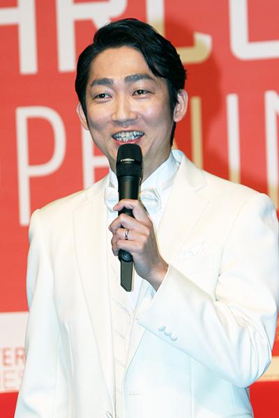 PARCO劇場お披露目&オープニング・シリーズ記者会見:石田明