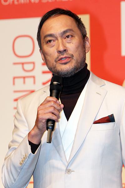 PARCO劇場お披露目&オープニング・シリーズ記者会見:渡辺謙