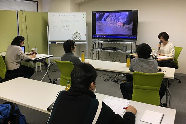 映画『東京干潟』音声ガイドモニター検討会