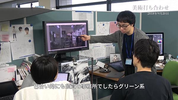 映画『天気の子』メイキングドキュメンタリー、新海誠