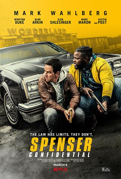 Netflix映画『スペンサー・コンフィデンシャル』マーク・ウォールバーグ/ウィンストン・デュー