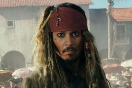 映画『パイレーツ・オブ・カリビアン/最後の海賊』ジョニー・デップ