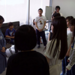 映画『許された子どもたち』ワークショップ:いじめのロールプレイ