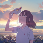 Netflixアニメ映画『泣きたい私は猫をかぶる』
