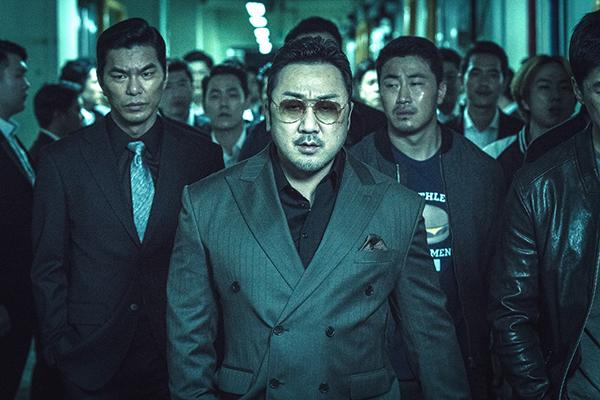 映画『悪人伝』マ・ドンソク