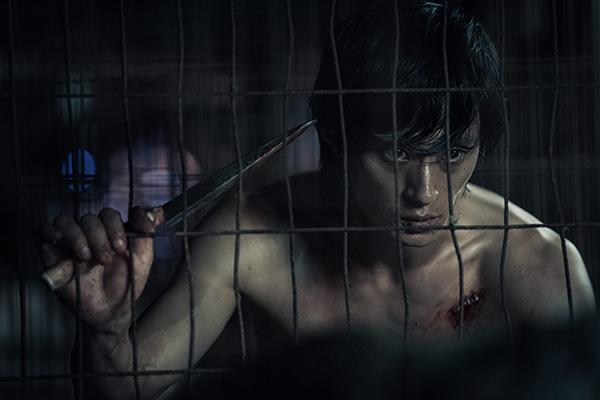 映画『悪人伝』キム・ソンギュ